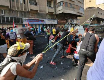 ifmat - Al Sistani says protests will forever mark Iraq