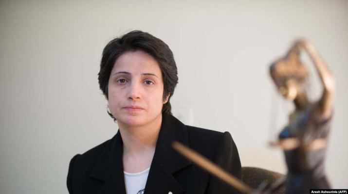 ifmat - Jailed Iranian lawyers win human rights award