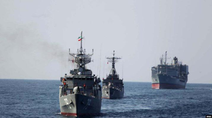 ifmat - Iran Russia and China holding four day Naval exercises