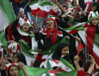 ifmat - Iran banned from hosting international soccer
