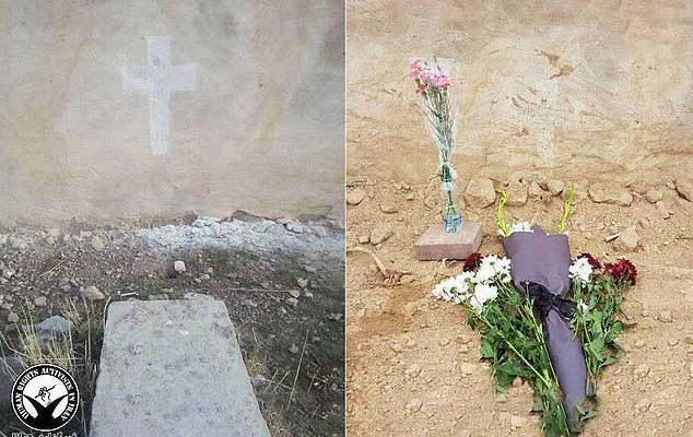 ifmat - Iran bulldozes over the grave of pastor who was executed by the regime
