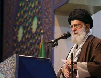 ifmat - Khamenei rails against US peace plan