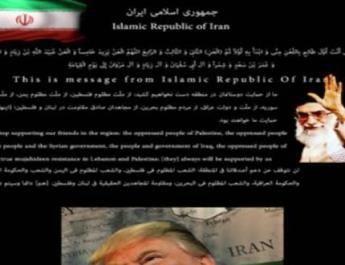 ifmat - Teen hackers are defacing unsuspecting US websites with pro-Iran messages