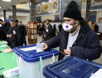 ifmat - Iranian hardliners win election by large margin