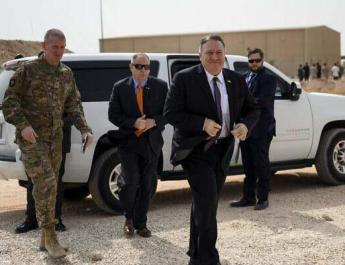 ifmat - Pompeo meets US troops in Saudi visit focused on Iran