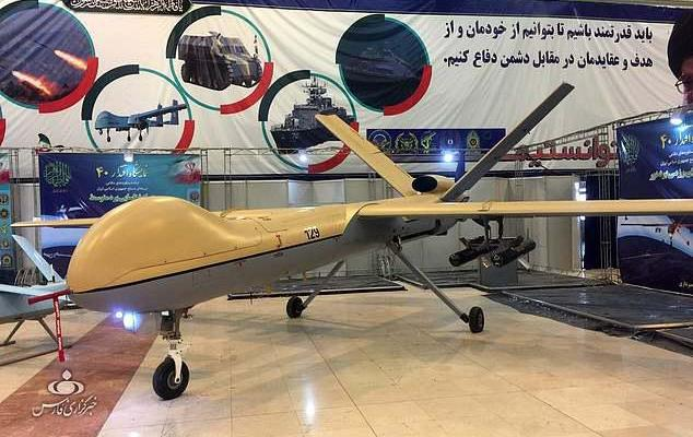 ifmat - Iran buys three killer drones with 932-mile range