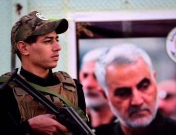 ifmat-Iran guards warn washington against any attack on proxies in Iraq