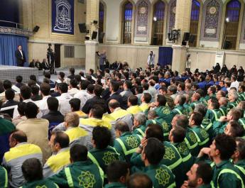 ifmat - Iranians calls for Khamenei financial empire to assist the people