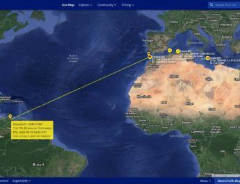 Iran tanker convoy of gasoline sailing to Venezuela