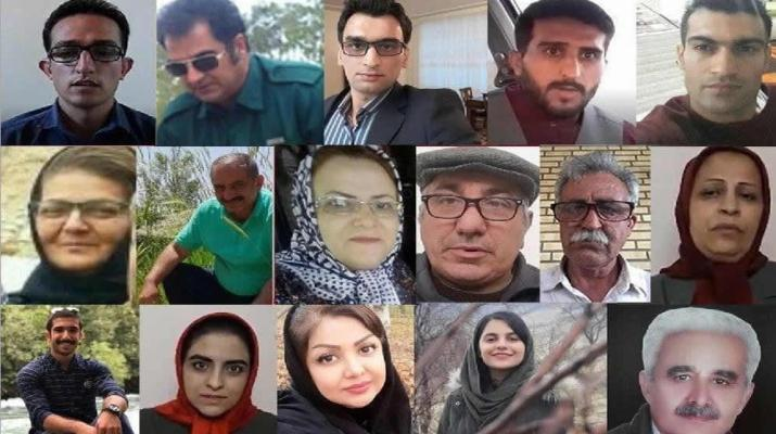 ifmat - Families and supporters of the opposition PMOI MEK arrested across Iran