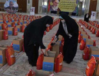 ifmat - Food aid for Iranian poor At Khomeini luxurious shrine ignites controversy