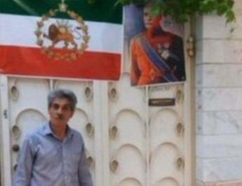 ifmat - Iranian man arrested for using monarchy flag