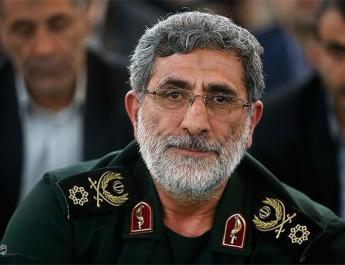 ifmat - IRGC Quds Force chief vows support for Palestine