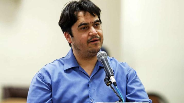 ifmat - Iran sentences journalist Ruhollah Zam to death