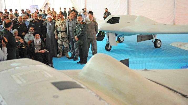 ifmat - Iran unveils homemade drone with service ceiling of 12000 feet