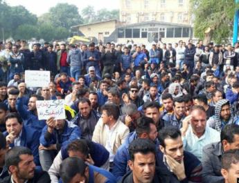 ifmat - Workers at restive industrial complex on strike for second week
