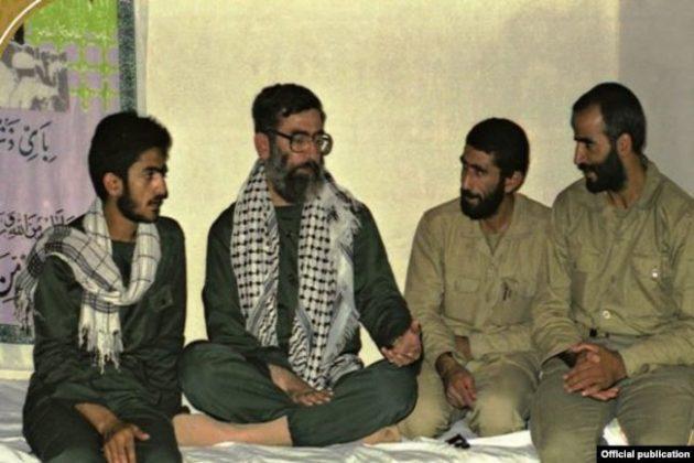 Esmail-Qaani-and-Ali-Khamenei-during-Iran-Iraq-war-in-1980s