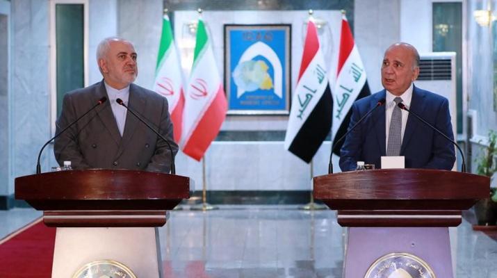 ifmat - Iran FM visits Baghdad ahead of Iraq PM trip to Saudi Arabia