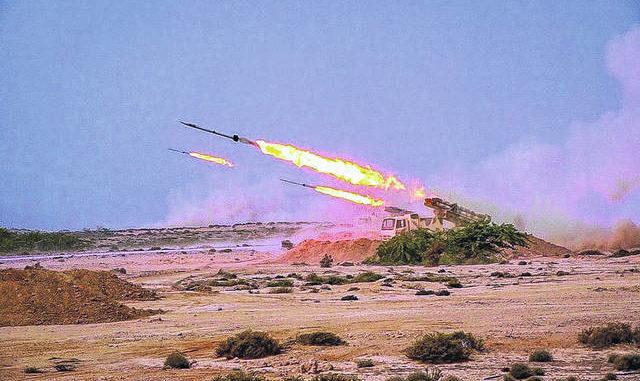 ifmat - Iran launches underground ballistic missiles during exercise