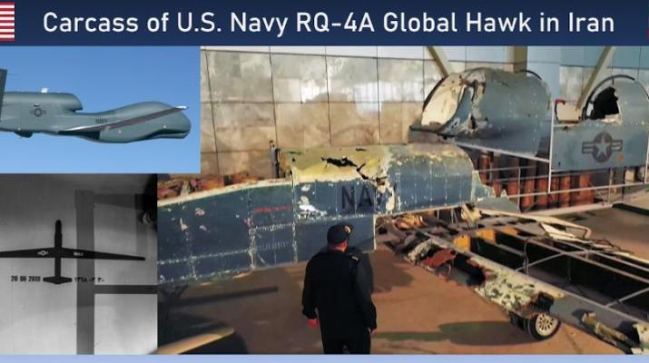 ifmat - Shot down US navy global hawk reconstructed by Iran