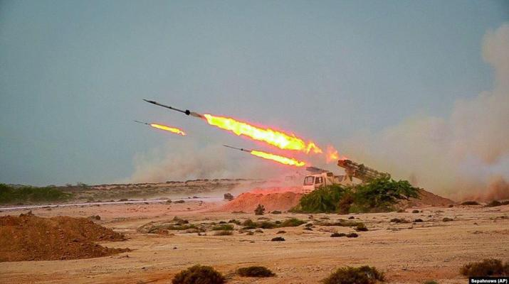 ifmat - US bases in the Persian Gulf go on alert after Iran fires ballistic missiles