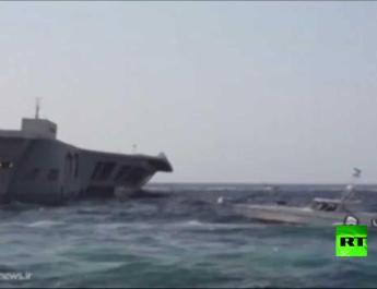 ifmat - Video of Iran simulates battle with US Navy in Strait of Hormuz