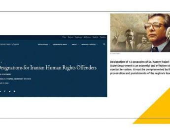 ifmat - Holding Iran regime accountable for terrorism is indispensable for global peace and security