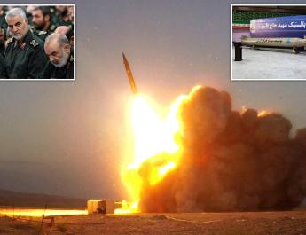 ifmat - Iran release video of new ballistic missile called Martyr Qassem Soleimani