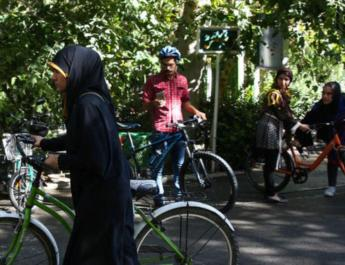 ifmat - Women banned from riding bikes in Iran province run by Ultra-Conservative Cleric