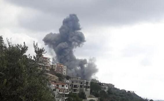 ifmat - Iran-backed Hezbollah arms depot explodes in southern Lebanon