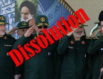 ifmat - Iranians call for dissolution of IRGC