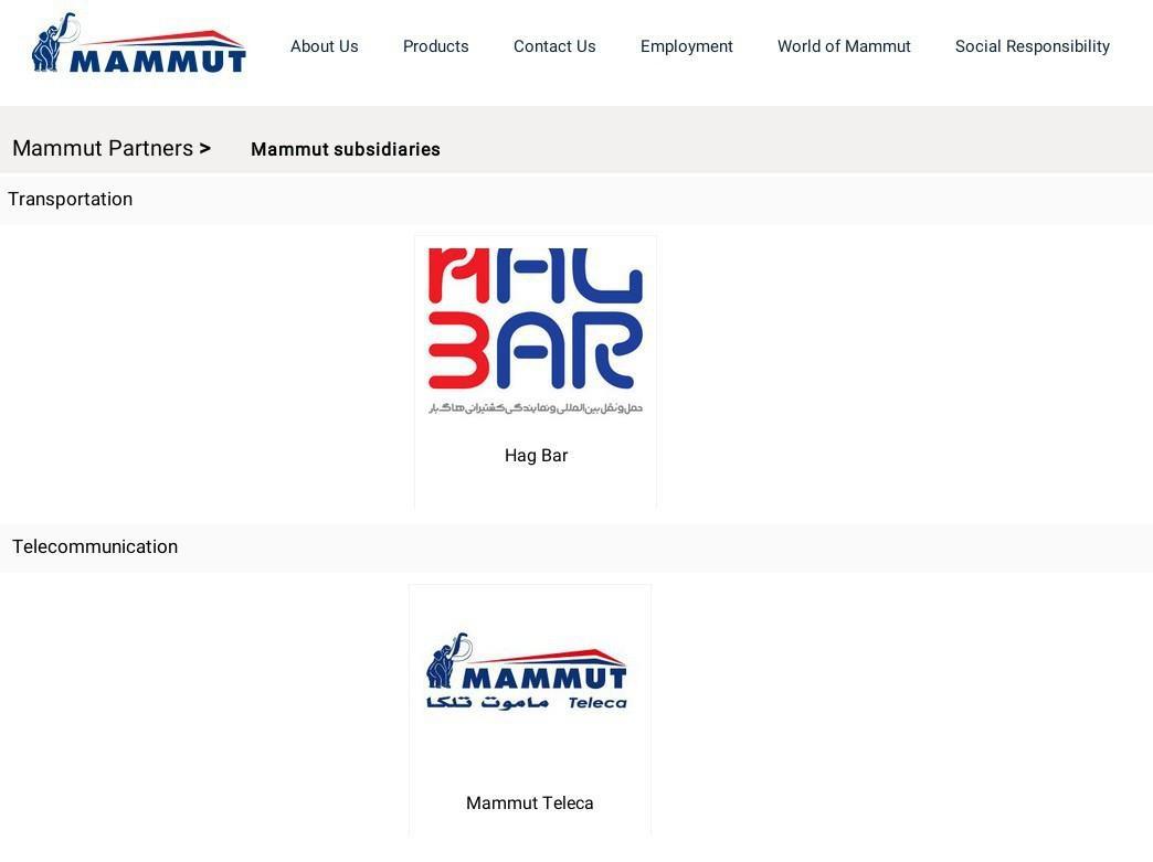 ifmat - Mammut Partners - Transportation - Telecommunication
