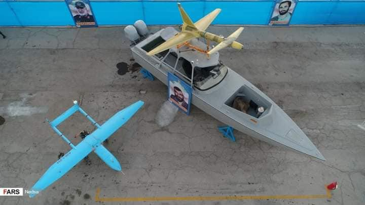 ifmat - IRGC forces unveil new suicide drones - Photos1