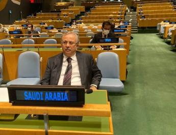 ifmat - Saudi UN envoy urges international action against Iran support for militias