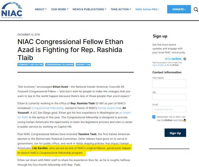 ifmat - niac-congressional-fellow-ethan-azad-fighting-rep-rashida-tlaib