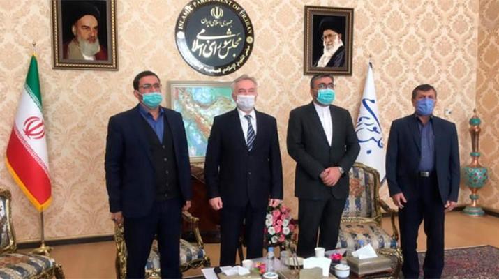 ifmat - Belarus and Iran discuss bilateral dialogue