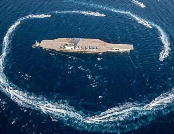 ifmat - Iran Revolutionary Guard launches aircraft-carrying ship