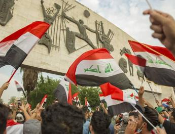 ifmat - Protests in Iraq continue against Iran regime proxy terrorists and corruption