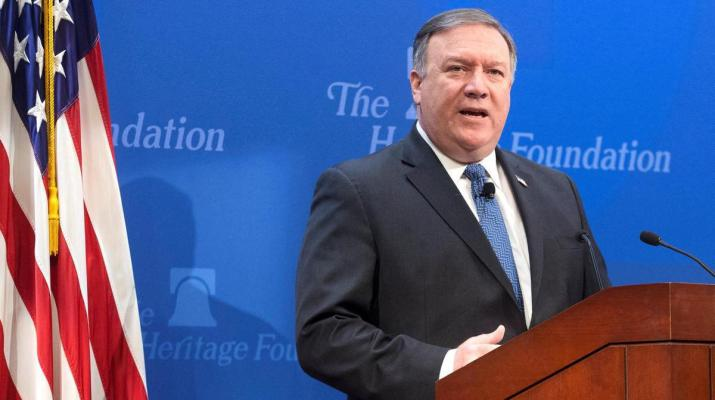 ifmat - Pompeo says Iran desperately keen to return to talks for sanctions relief