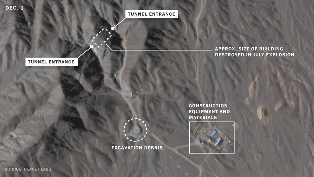 ifmat - Satellite images show construction at Natanz Iranian nuclear site