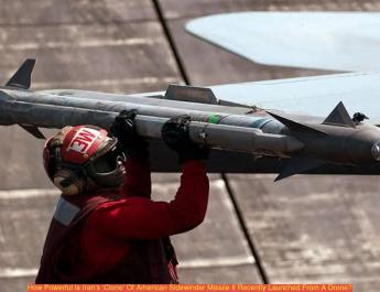 ifmat - How powerful is Iran clone of American sidewinder missile that it recently launched from a drone