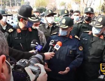 ifmat - Iran Deputy Police Chief break hands and legs of machete wielders