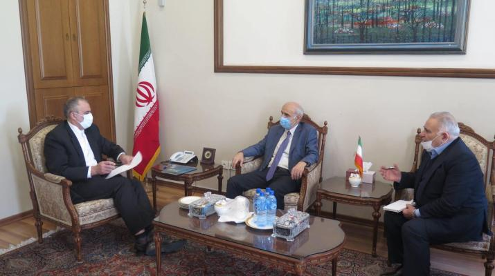 ifmat - Iran Foreign Ministry willing to contribute to joint projects with Armenia