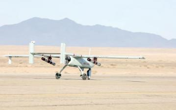 ifmat - Iran military holds first-ever drone drill 5