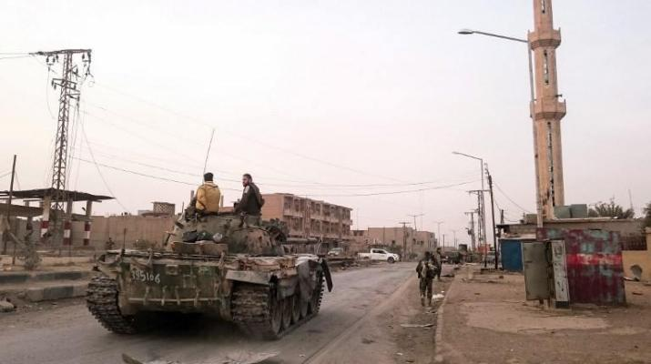 ifmat - Iranian militias redeploy in East Syria