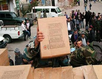 ifmat - Middleman for Iran Distributing Aid in Eastern Syria