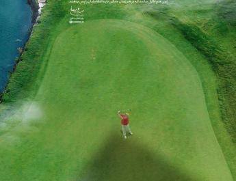 ifmat - Top Iran leader posts Trump-like golfer image - vows revenge