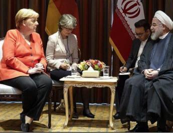 ifmat - Iran should return to nuclear deal - Angela Merkel tells Hassan Rouhani