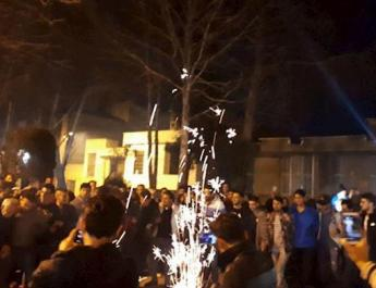 ifmat - Iran fire festival continues in spite of authorities threats