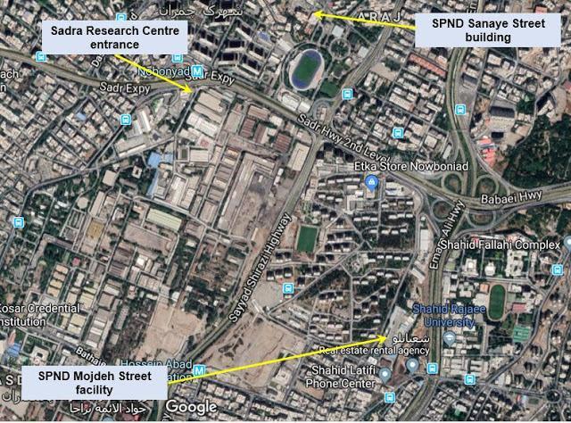 ifmat - Sadra map
